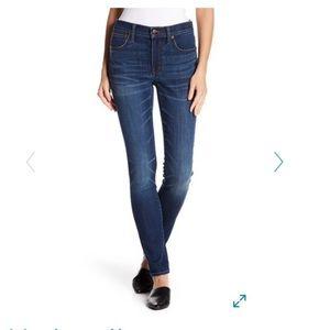 "Madewell 9"" high rise skinny jeans 29"